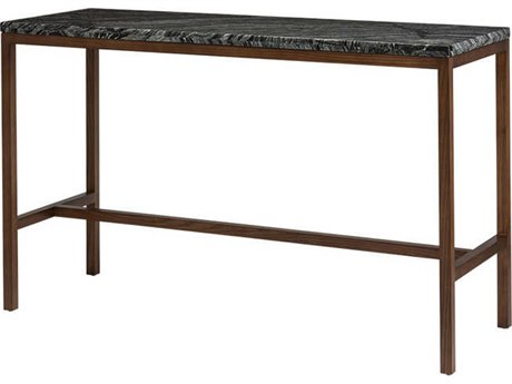 Nuevo Living Verona 60'' x 21.8'' Rectangular Black Counter Table NUEHGYU169