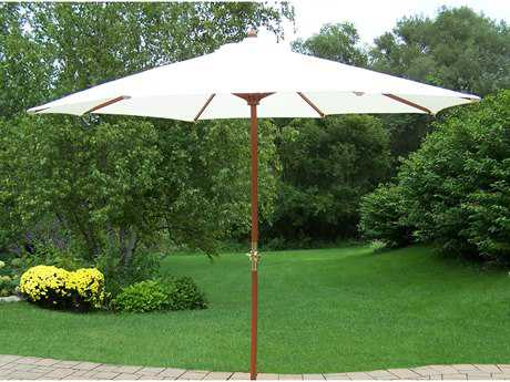 Oakland Living Aluminum 9' Market Umbrella with Crank