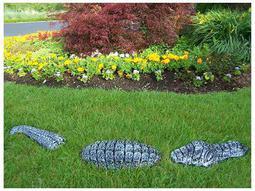 Animals Cast Aluminum Garden Gator