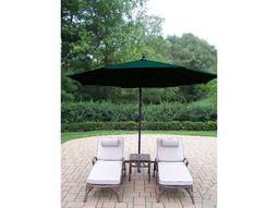 Elite Cast Aluminum 4 Pc. Lounge set with Cushion and Umbrella