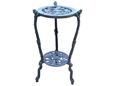 Oakland Living Frogs Cast Iron Table Plant Stand