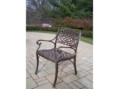 Oakland Living Mississippi Cast Aluminum Arm Chair