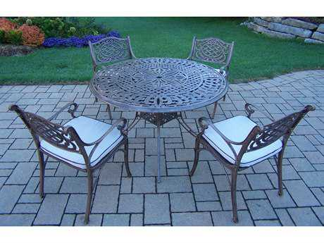 Oakland Living Capitol Mississippi Cast Aluminum 5 Pc. Dining set