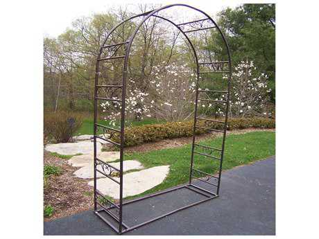 Oakland Living Mississippi Wrought Iron Garden Arbor