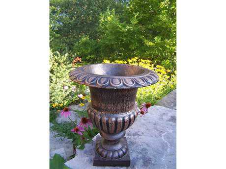 Oakland Living Mississippi Cast Iron Grecian 24 inch Urn