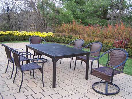 Oakland Living Rochester Tuscany 7 Pc. Dining Set