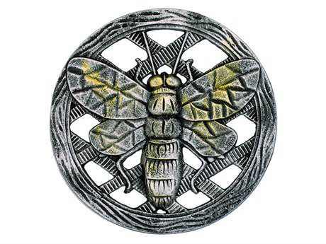 Oakland Living Cast Aluminum Stepping Stone Bee in Antique Pewter