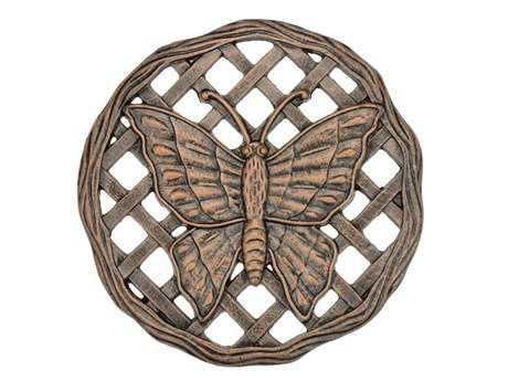 Oakland Living  Cast Aluminum Stepping Stone Butterfly in Antique Bronze