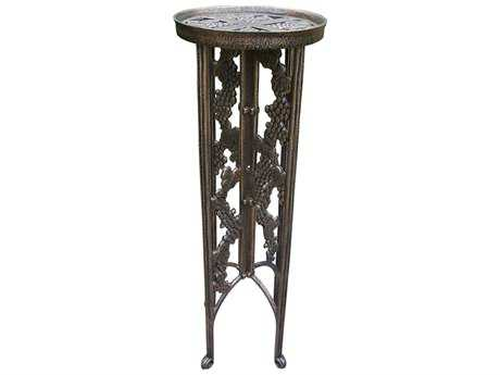 Oakland Living Vineyards Cast Iron Grape Interlocking Plant Stand PatioLiving