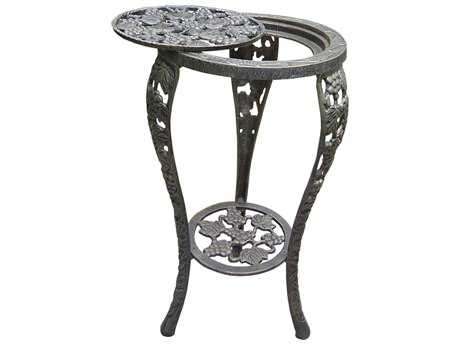Oakland Living Vineyards Cast Iron Grape Table Plant Stand in Antique Bronze