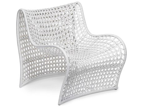 Oggetti Lola White Occasional Accent Chair OGG05LOLAWHT