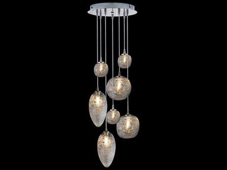 Oggetti Cosmo Spun Glass Globe 24'' Wide LED Pendant Light OGG50COSMO