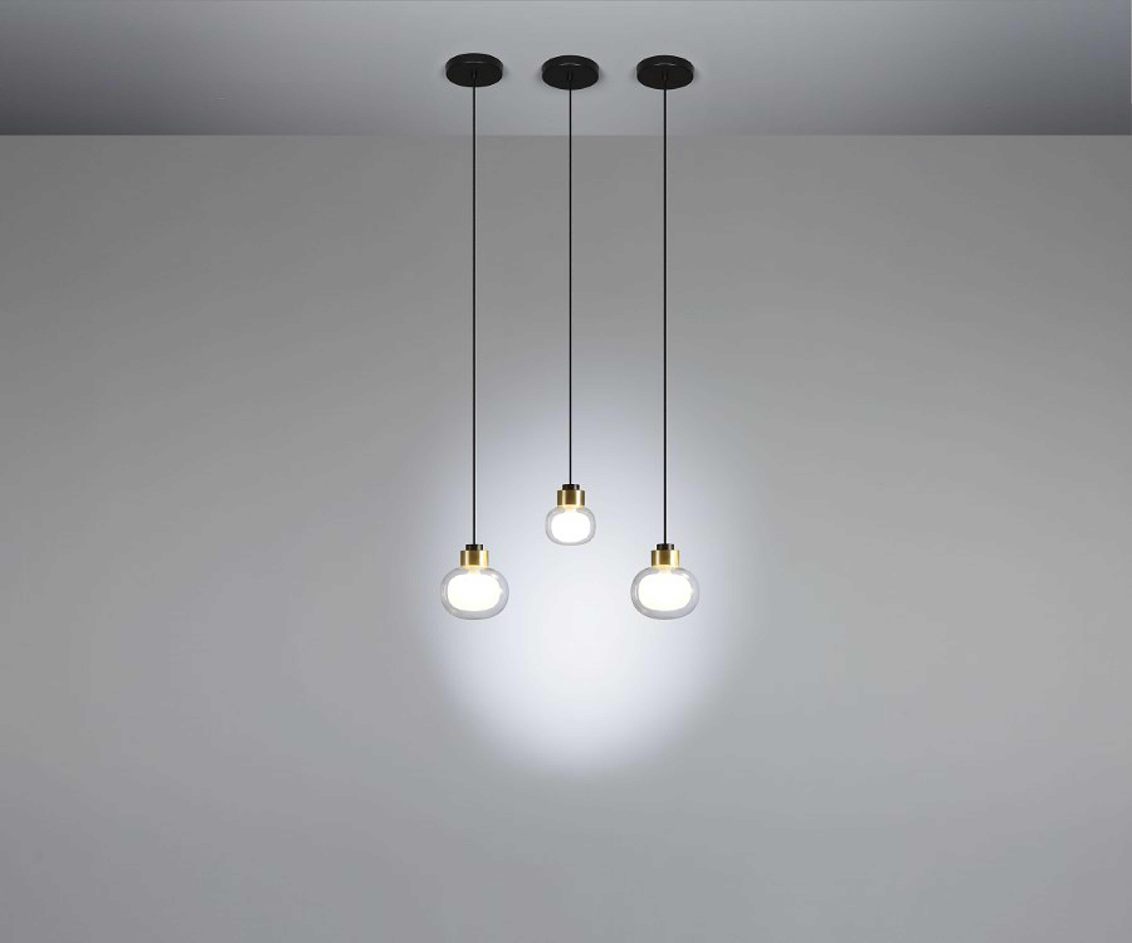 Oggetti Tooy La Br Black 6 Wide Led Mini Pendant Light