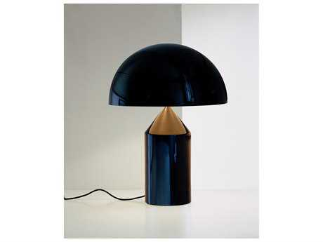 Oluce Atollo Two-Light Table Lamp OE233