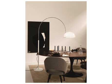 Oluce Coupe White Floor Lamp OE3320RWH