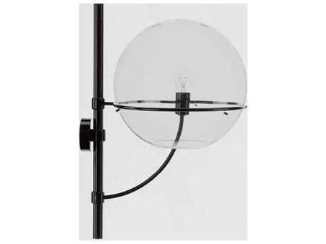 Oluce Lyndon Small Black Outdoor Wall Light OE160M
