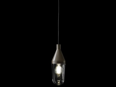 Oluce Niwa Beige Grey LED Outdoor Hanging Light