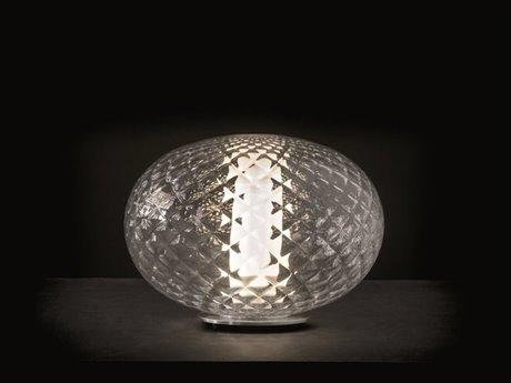 Oluce Recuerdo Chrome LED Table Lamp OE284