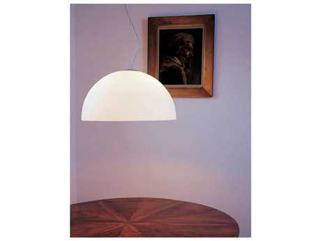 Oluce Sonora White Two-Light Pendant