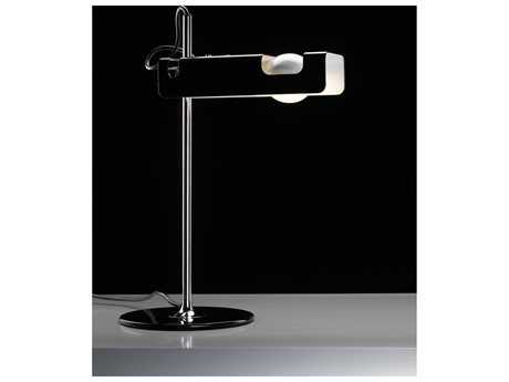 Oluce Spider Black Table Lamp OE291WH