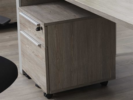 Unique Furniture Kalmar Grey File Cabinet (OPEN BOX)