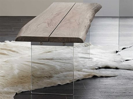 Hooker Furniture Organic Medium Wood Accent Bench (Open Box)