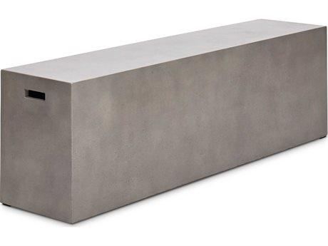 Urbia Una Dark Grey Accent Bench (OPEN BOX)