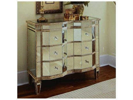 Hooker Furniture Antique Mirrored 39''W x 18''D Accent Chest (OPEN BOX) OBX88485122OPENBOX