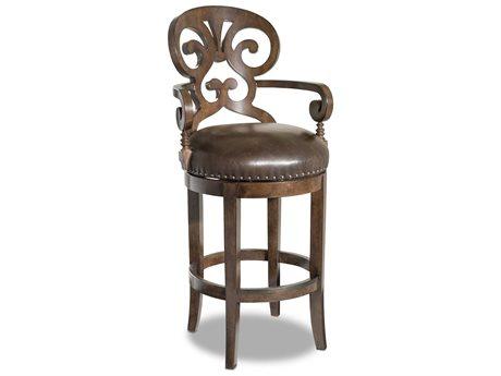 Hooker Furniture Jameson Medium Wood Bar Stool (OPEN BOX) OBX30020016OPENBOX