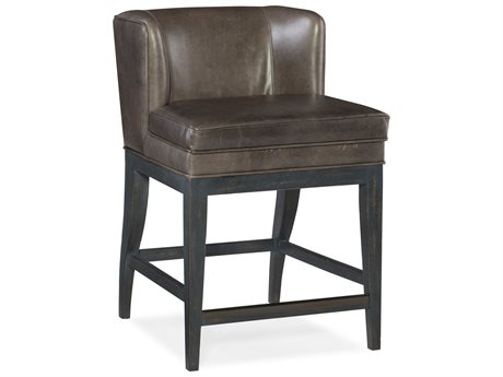 Hooker Furniture Jada Black with Memento Medal Counter Stool (OPEN BOX) OBX30025057OPENBOX