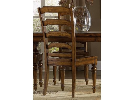 Hooker Furniture Tynecastle Medium Wood Side Dining Chair (OPEN BOX)