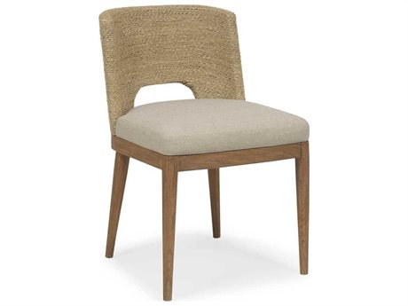 Brownstone Furniture Amalfi Beach / Praline Side Dining Chair (OPEN BOX)