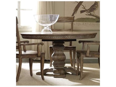 Hooker Furniture Sorella Taupe 54'' Wide Round Dining Table (OPEN BOX)