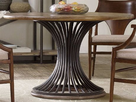 Hooker Furniture Studio 7H Scandinavian 48'' Wide Round Dining Table (OPEN BOX) OBX538275203OPENBOX