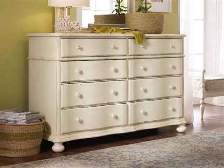 Hooker Furniture Sandcastle White Eight-Drawers Double Dresser (OPEN BOX) OBX590090002WHOPENBOX