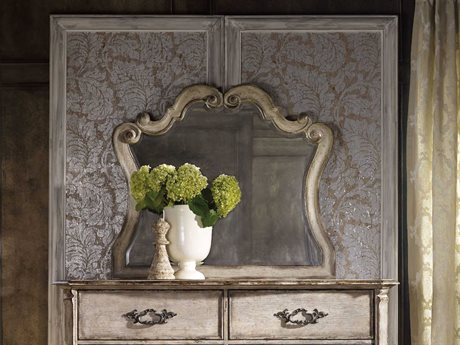 Hooker Furniture Chatelet Paris Vintage 46''W x 40''H Landscape Dresser Mirror (OPENBOX) OBX535090009OPENBOX