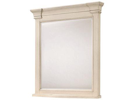 Universal Furniture Summer Hill 37''W x 43''H Rectangular Cotton Dresser Mirror (Open Box) OBX98704MOPENBOX