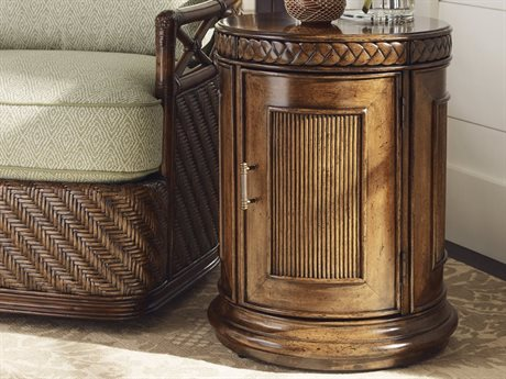 Tommy Bahama Bali Hai 19.25'' x 24'' Belize Round End Table (OPEN BOX) OBX010593950OPENBOX