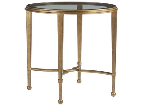 Artistica Home Sangiovese Renaissance 26'' Wide Round End Table (OPEN BOX)