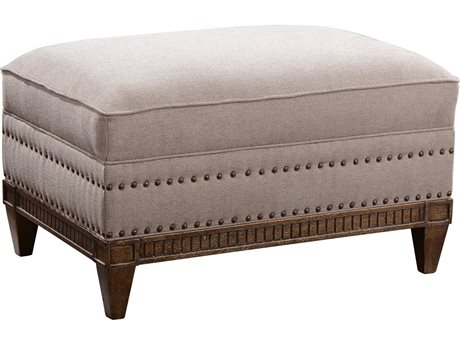 A.R.T. Furniture Empyrean Sky Melange Brown Ottoman (OPEN BOX) OBX5375445026AAOPENBOX