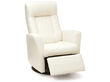 Palliser Banff Carnival Leather Swivel Glider Powered Recliner Chair OBX4220038OPENBOX