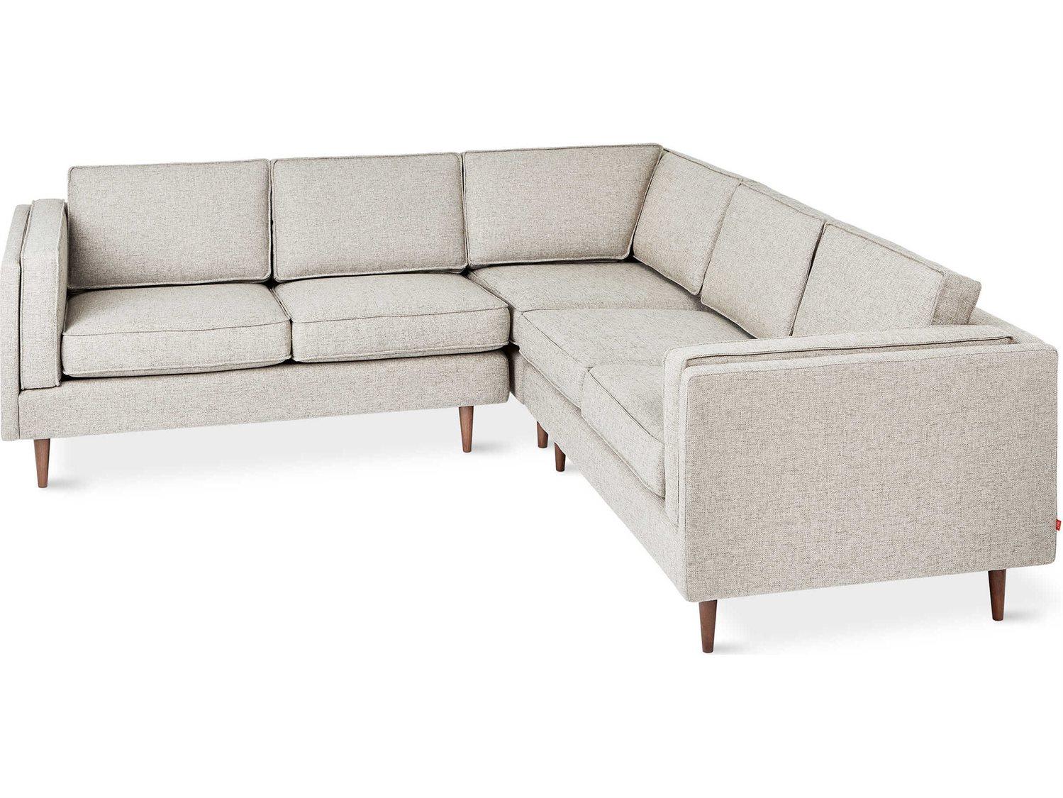 Prime Gus Modern Adelaide Leaside Driftwood Sectional Sofa Open Box Beatyapartments Chair Design Images Beatyapartmentscom
