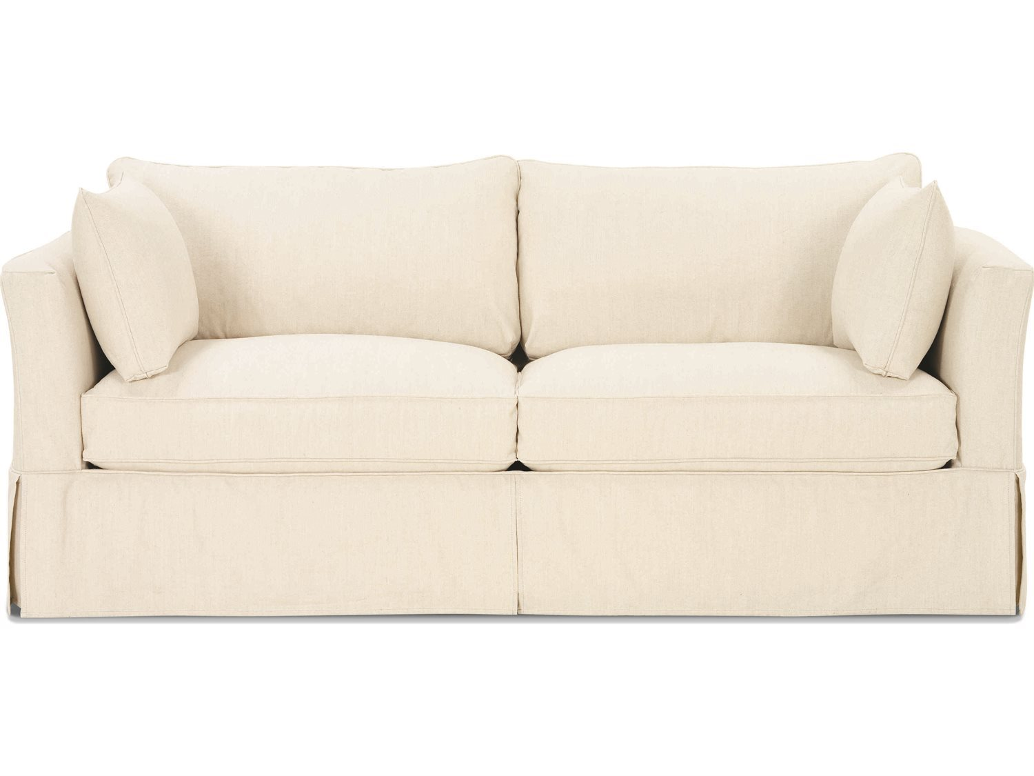 Rowe Furniture Darby Queen Sleeper Sofa With Slipcover Open Box H239q 000