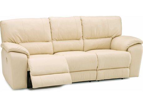 Palliser Shields Evoque Frost Leather Powered Recliner Sofa (OPEN BOX)