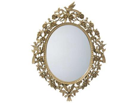 Theodore Alexander Gold Wall Mirror (OPEN BOX) OBX3102456OPENBOX