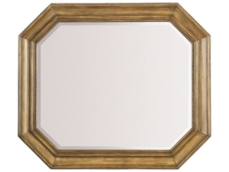 Hooker Furniture Archivist Toffee 37''W X 43''H Portrait Mirror (OPEN BOX) OBX544790008TOFFEEOPENBOX