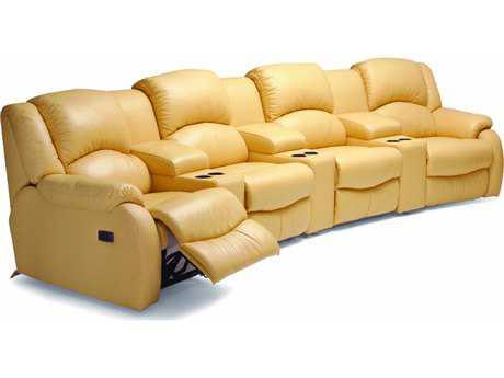 Palliser Dane Motion Home Theater Sectional Sofa
