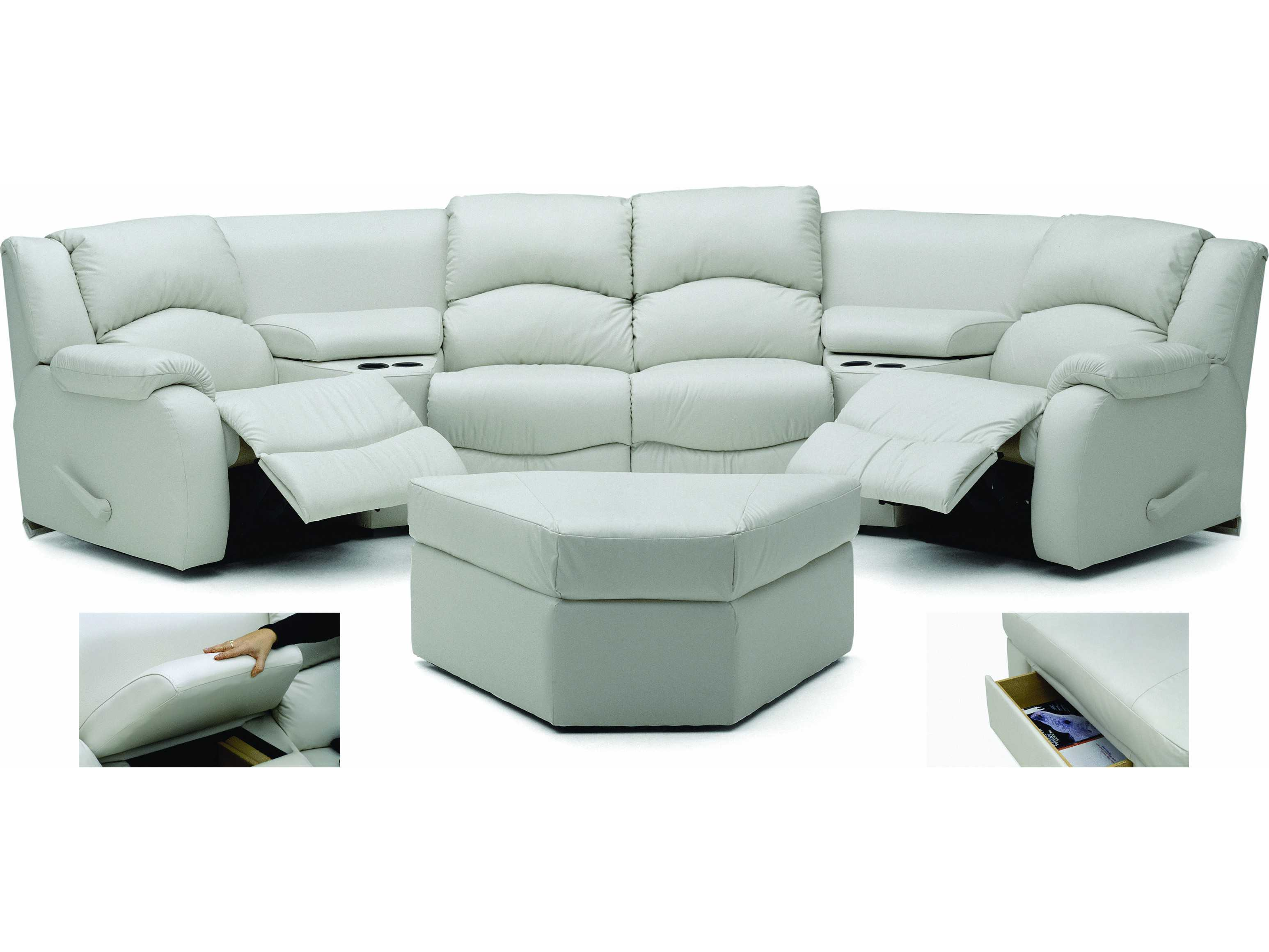 Palliser Dane Motion Home Theater Sectional Sofa 41066 Mo11