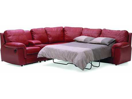 Palliser Brunswick Manual Motion Right Hand Facing Sectional Sofa Bed PL40620MO3