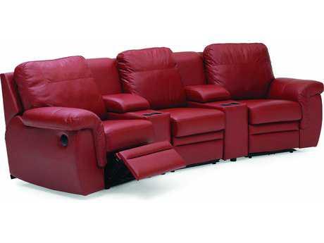 Palliser Brunswick Manual Motion Home Theater Sectional Sofa PL40620MO9